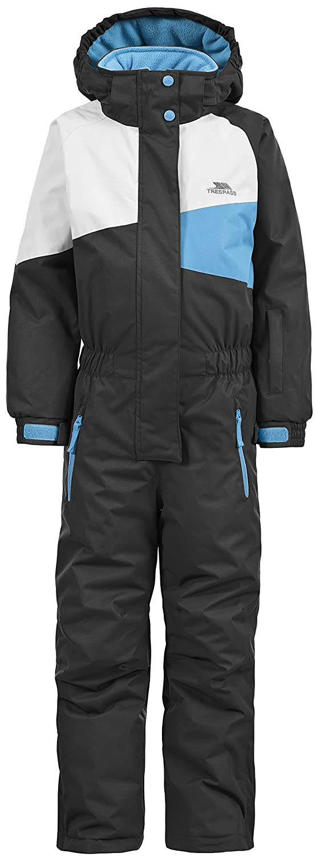 Trespass Wiper Kids Unisex Ski Suit Warm Winter Hooded Jumpsuit Boys Girls UCSUSKK20002