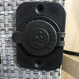 2 X Toma De Corriente Empotrable Mechero Conector 12v Para Coche Moto Barco Amazon Es Coche Y Moto