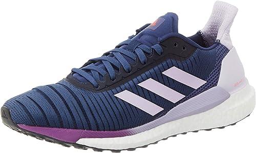 Adidas Solar Glide 19 W, Zapatillas Running Mujer, Tech Indigo ...