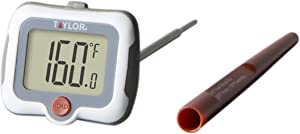 Taylor Precision Products 9836 Digital Thermometer, Universal, Steel