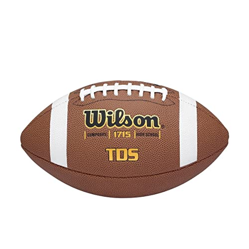 b5086f787ba Amazon.com   Wilson® TD Composite Series Football (EA)   High School  Footballs   Sports   Outdoors