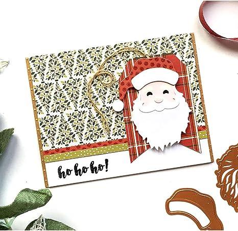 Christmas Santa Claus Metal Cutting Dies Cut Die Scrapbook Paper Craft Embossing