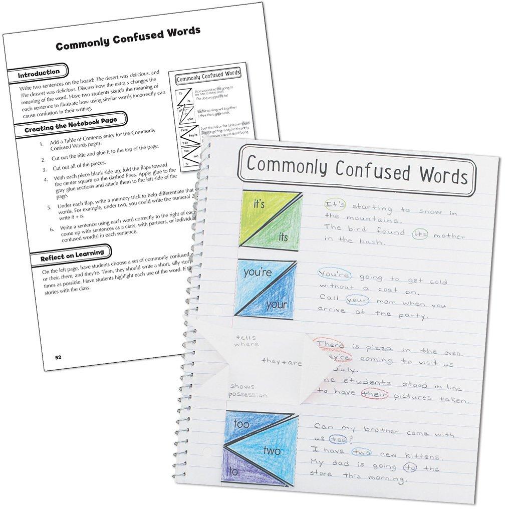 Language Arts, Grade 4 (Interactive Notebooks): Amazon.de: Carson ...