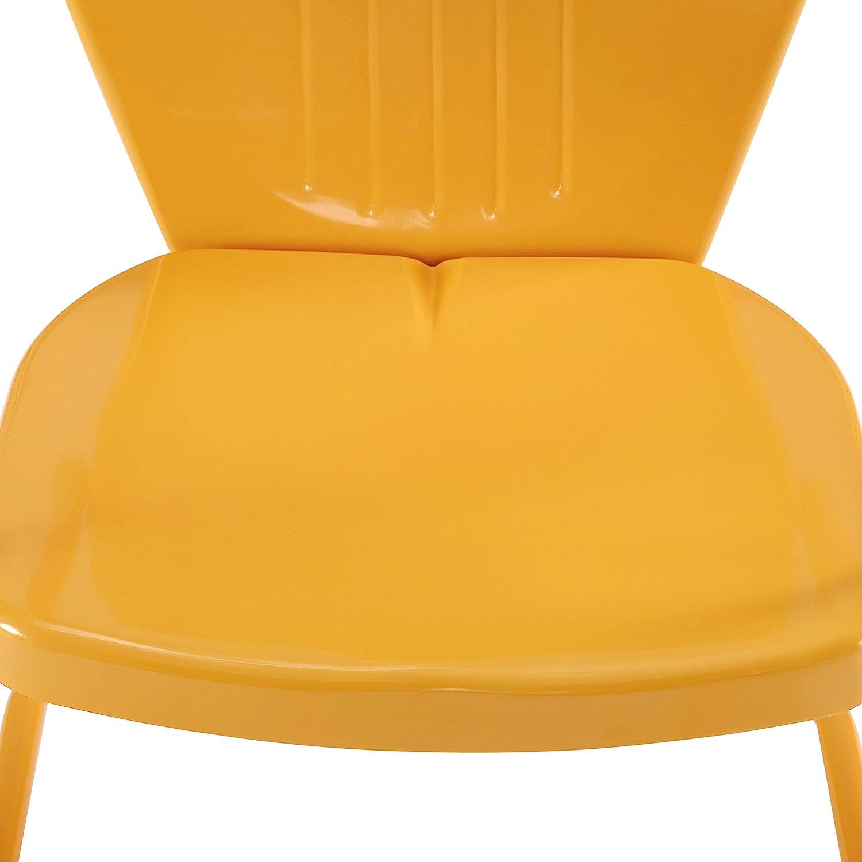Aqua Crosley Furniture CO1001A-AQ Griffith Retro Metal Outdoor Chair