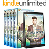 Crystal Beach Fake Marriage Series : A Fake Marriage Sweet Billionaire Romance Collection Books 1-4