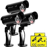 3PCS Cámara de Video Falsa, Cámara de Vigilancia