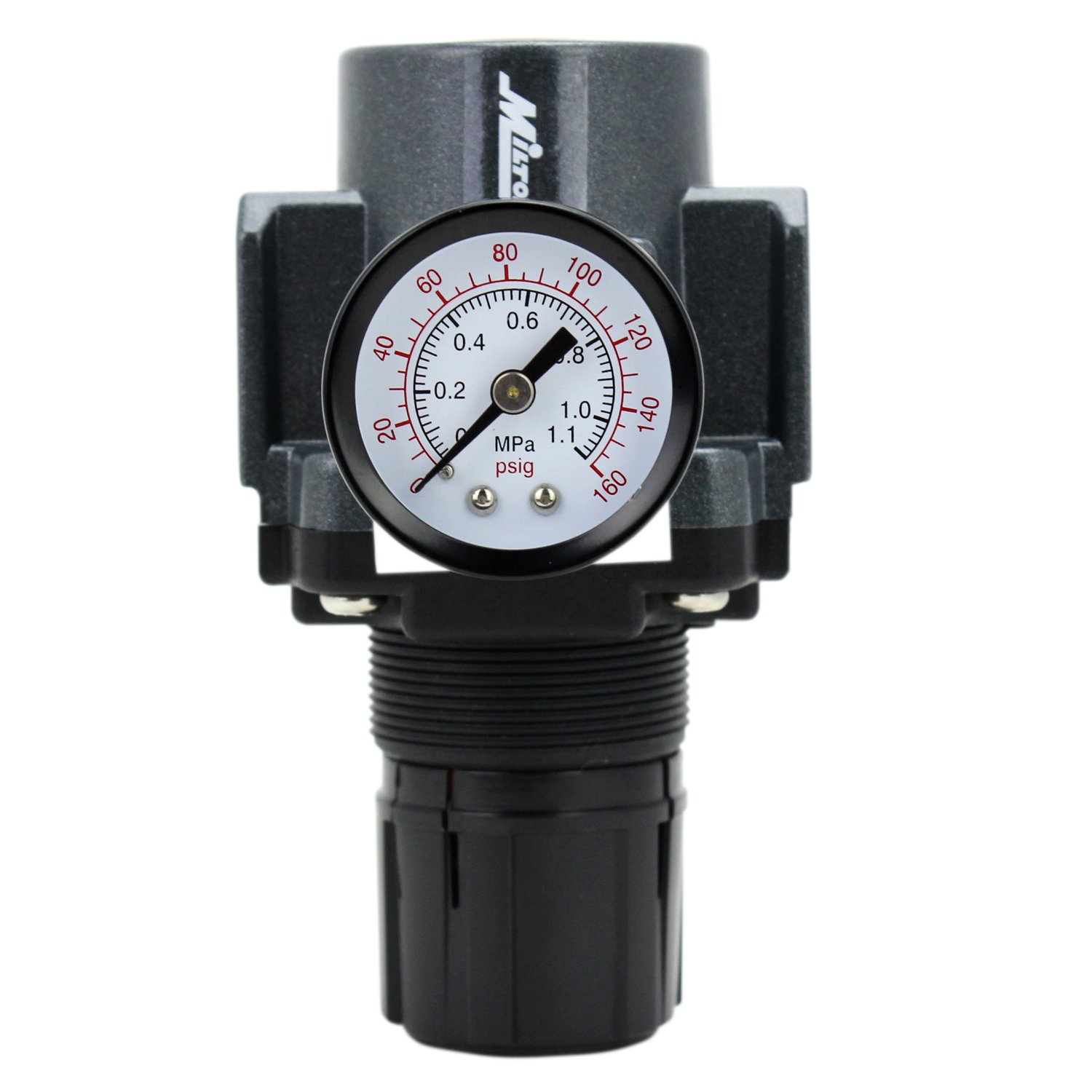 EXELAIR by Milton FRL Air Regulator - 1/2 NPT (EX45R-04) Milton Industries