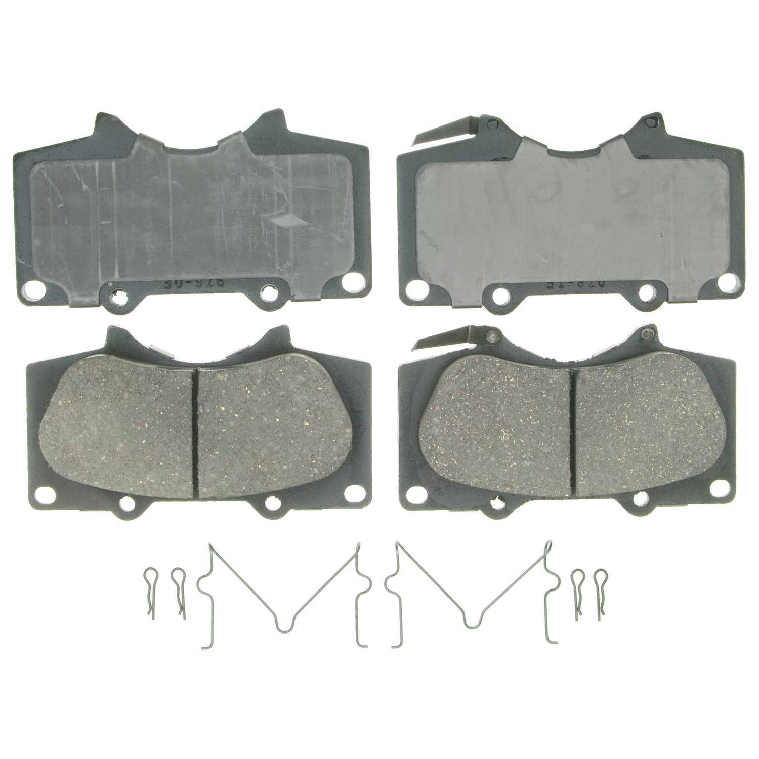 Wagner QuickStop ZD976 Ceramic Disc Pad Set Includes Pad Installation Hardware, Front