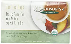 Davidson's Tea Organic Mulling Spice, 100-Count Tea Bags