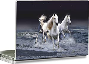 HYUTOTA Laptop Stickers Decal,12 13 14 15 15.6 inches Netbook Laptop Skin Sticker Reusable Protector Cover Case for Toshiba Hp Samsung Dell Apple Acer Leonovo Sony Asus Laptop Notebook (Running Horse)