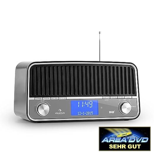 7 opinioni per auna Nizza DAB+ radio digitale subwoofer integrato (Bluetooth, FM, MP3, USB,