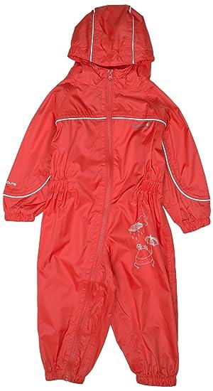 fe72b7ab9e53 Regatta Kids Puddle II Waterproof Romper Suit  Amazon.co.uk  Sports ...
