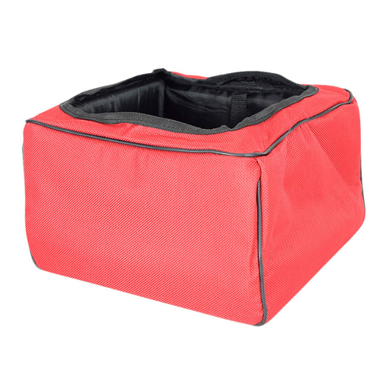 Red FGJFA Outing Cat Bag Wholesale Folding Cat Bag Breathable Pet Pad Portable Waterproof Dog Bag Car Pet Car Bag