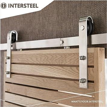 Intellinet 32670dc0 – Juego de picaporte para puerta corredera