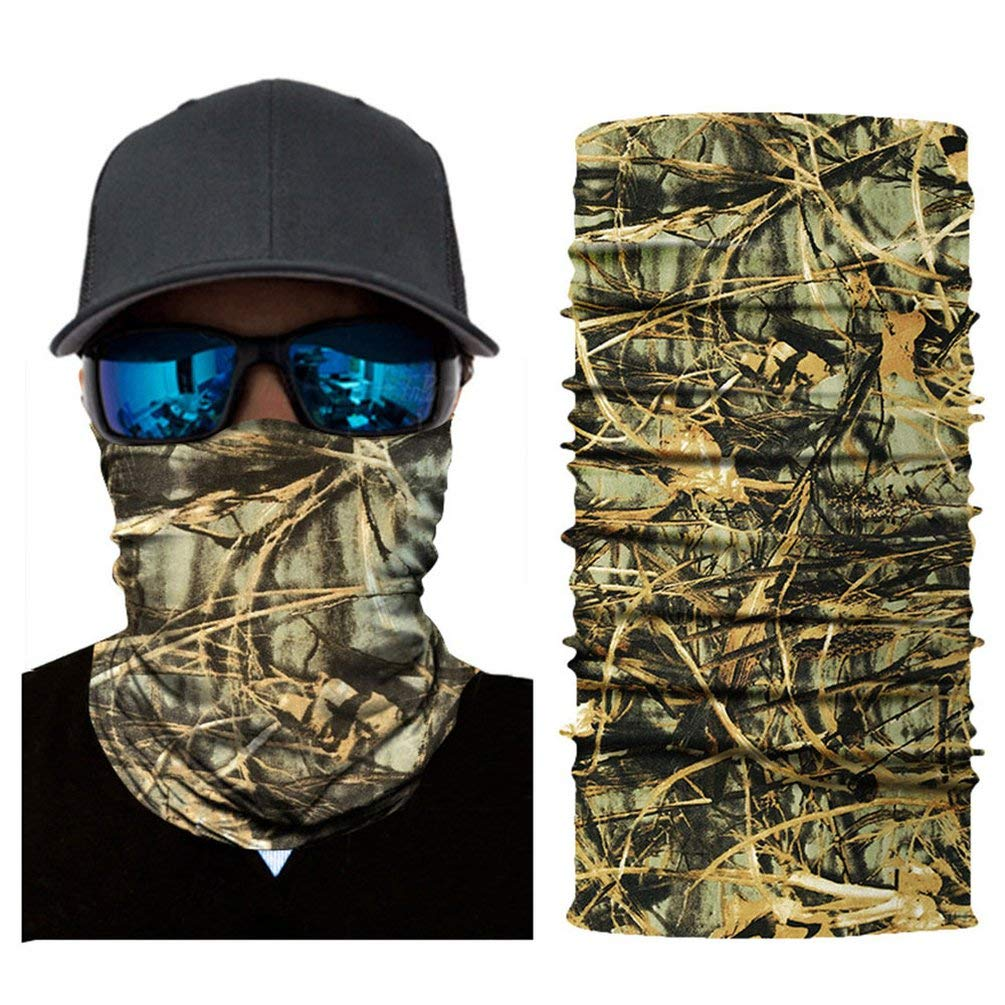 TAOHOU Riding Running Neckerchief Sun Protecting Mask Camouflage Sport Hand Towel AC114