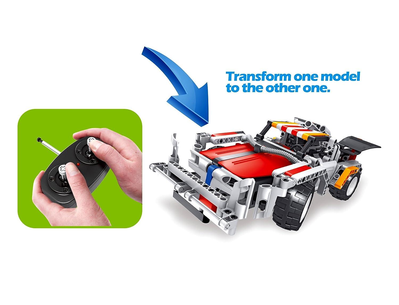 PowerTRC 326pc Educational Construction Robot RC Racer Building Set