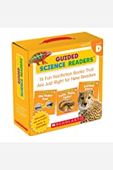 Guided Science Readers Parent Pack: Level D: 16 Fun Nonfiction Books That Are Just Right for New Readers Paperback