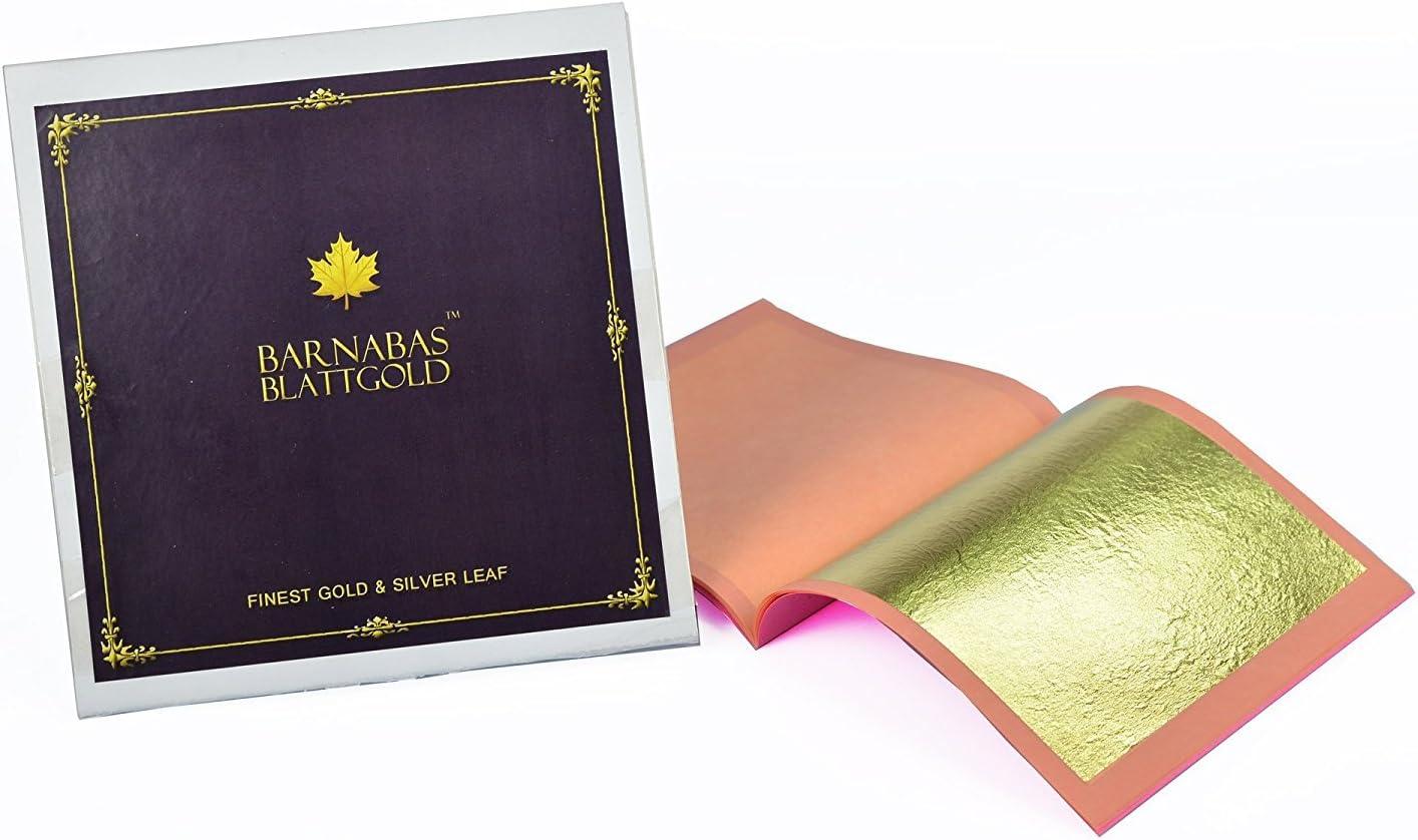 Apostel Barnabas /echtes Blattgold Blatt Blattgold/ professionelle Qualit/ät Heftchen