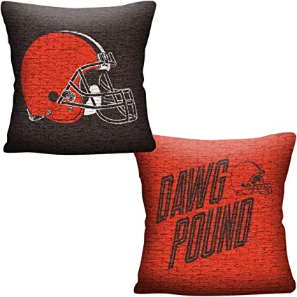 The Northwest Company Cleveland Browns Nfl Invert Woven Pillow Sports Outdoors
