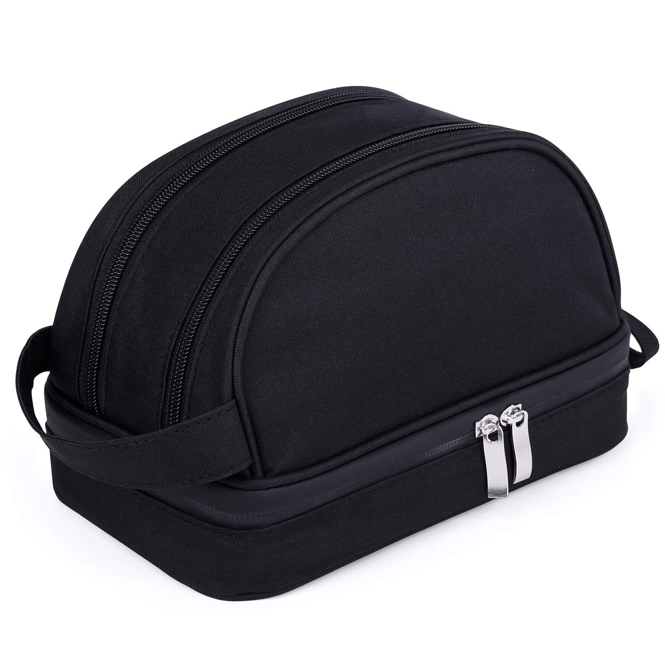 Valourgo Travel Size Toiletries Bag for Women And Men Tsa Approved Small Pouch Cosmetic Bag Makeup Bags