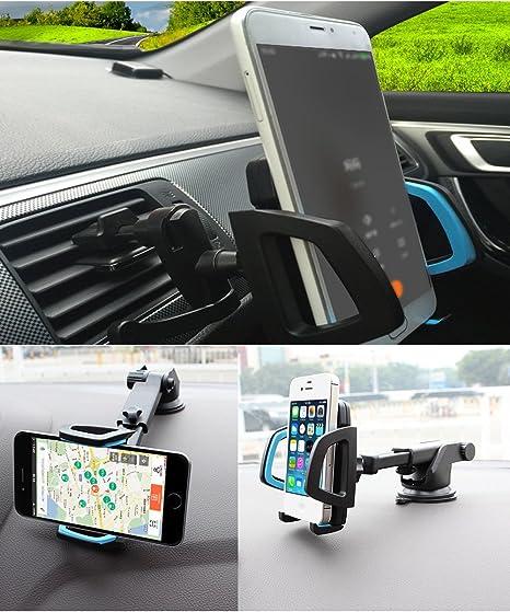 Soporte de teléfono para coche Support du Grille Ventilation et ...