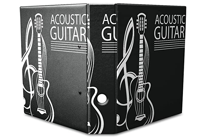 One 2 Ring Binder Lever Arch Folder A4 printed Acoustic