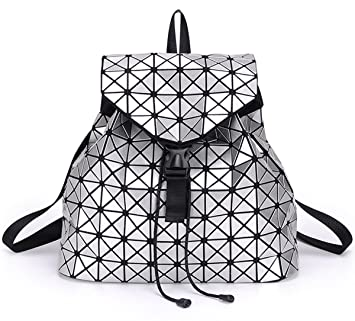 OYIGE Geometric Luminous Purses and Handbags Shard Lattice Eco ... 1207ca5ff74ae