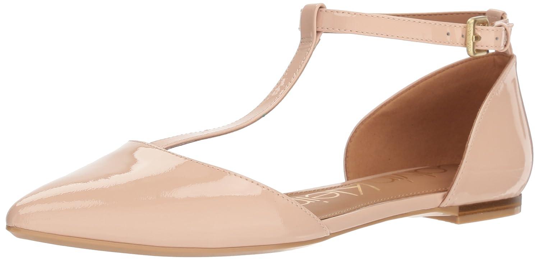 Calvin Klein Women's Ghita Ballet Flat B077J1GP2P 6 B(M) US|Sheer Satin