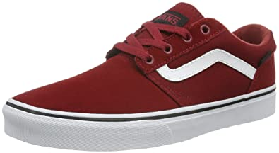 Vans Mens Chapman Stripe Varsity RED Black Size 85