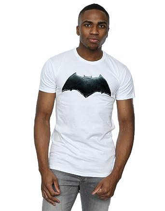 3deea8fcd DC Comics Hombre Justice League Movie Batman Emblem Camiseta  Amazon.es   Ropa y accesorios