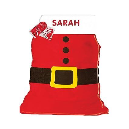 618f98908d20b Anker personnalisé n importe Quel nom de Noël Père Noël Chaussette pour  garçons ou Filles