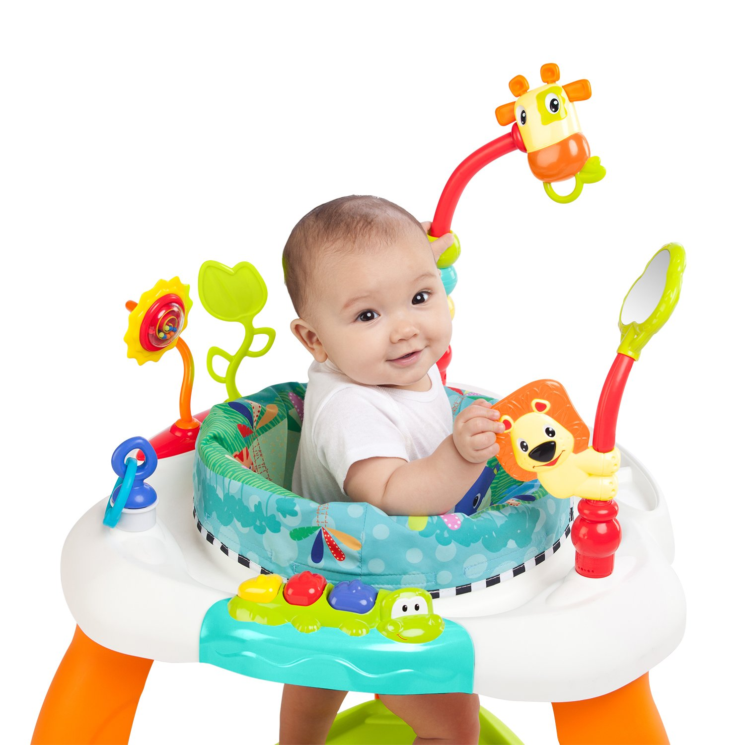 f0b673a1f860 Amazon.com   Bright Starts Bounce Bounce Baby   Stationary Baby ...