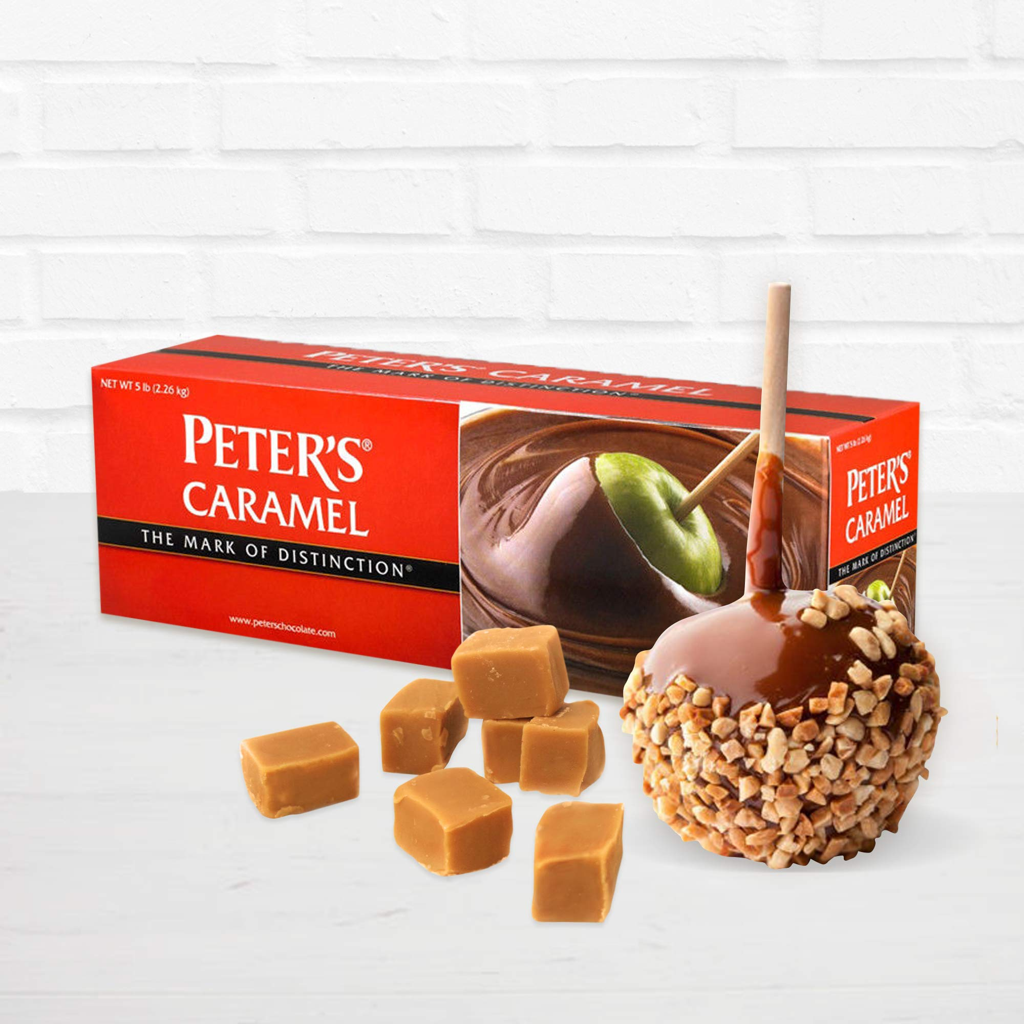 Peter's Creamy Caramel, 5 Lb. Block (Pack of 4) by Peters (Image #2)
