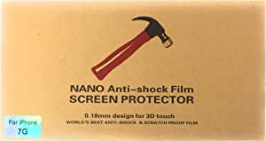 9H Nano Coating Screen Protector For Iphone 7 / 8