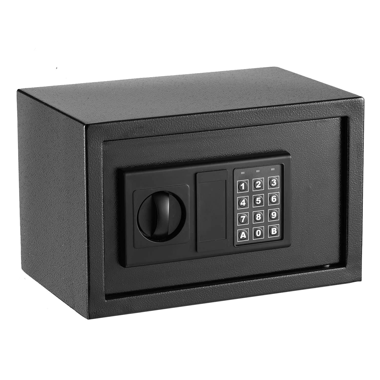 Digital Electronic Security Lock Cabinet Safe Box, Fireproof and Waterproof Solid Steel Wall-Anchoring Design Safe for Wallet Jewelry Cash Storage, Includes 2 Emergency Keys by INVIE