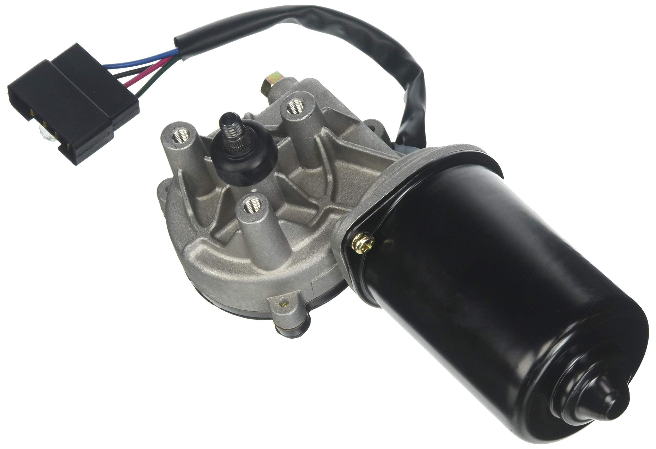 Wexco Wiper Motor, H130, 12V, 25Nm, Coast-to-Park Wiper Motor with SAE threads by AutoTex