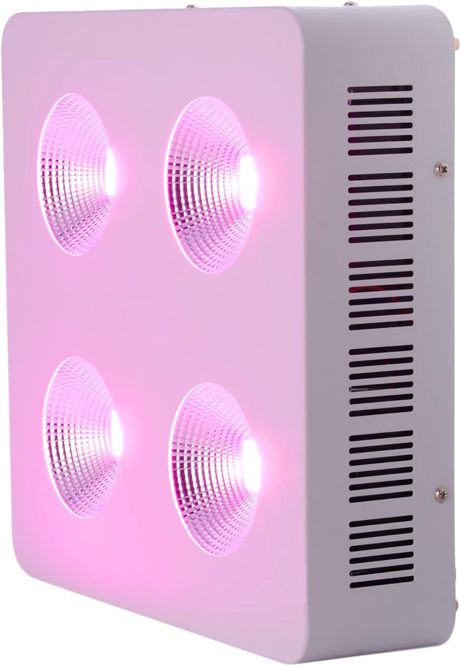 spettro completo lampada a LED COB per piante 400 W per piante Leshp verdure e fiori in serra