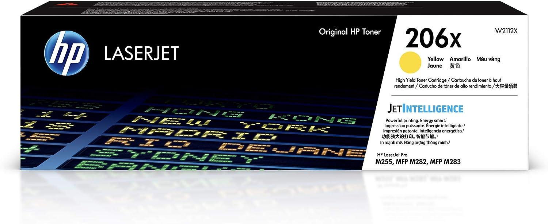 HP 206X | Toner Cartridge | Yellow | W2112X | High Yield