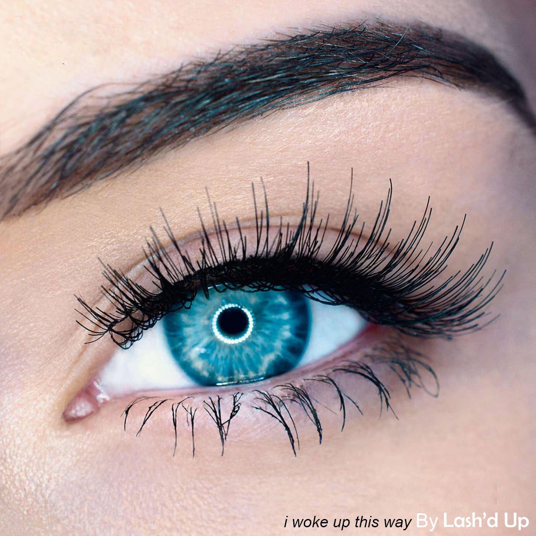 Lash'd Up Magnetic Eyelashes Full Eyes Natural Look Grade A+ Silk [No Glue] Child Cancer Partner Better Than 3 Magnets Reusable False Lashes | i woke up this way by Lash'd Up (Image #2)