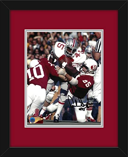 9798bc09e Archie Griffin Autographed Ohio State Buckeyes 8x10 Photograph with Mat and  Frame - Through the Pile