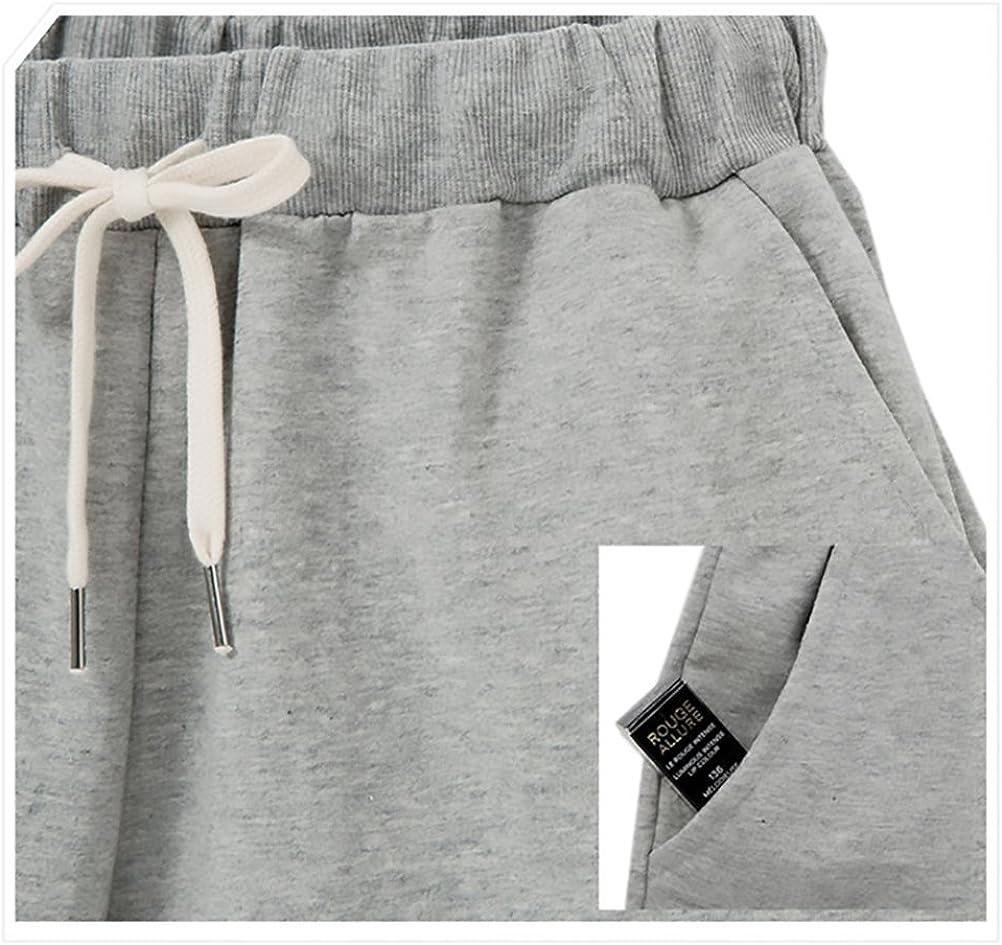 HaiDean Pantalon Corto Deporte Mujer Verano Modernas Casual Anchos Jogging Fitness Bermudas Shorts Tallas Grandes