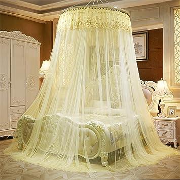 Moustiquaire de luxe dôme princesse lit auvent papillon lit ...