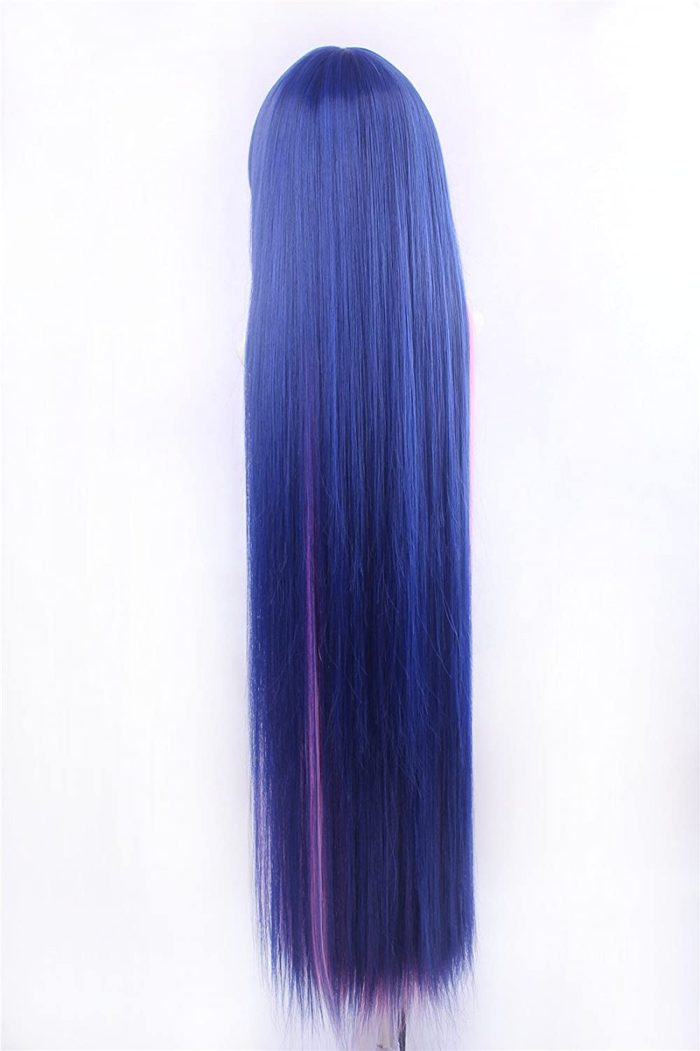 Amazon.com: Icoser Stoching Anime Cosplay Party Wigs Long Synthetic Hair 110cm: Beauty