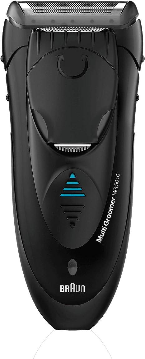 Braun MG5010 - Afeitadora eléctrica multifunción con tecnología wet & dry: Amazon.es: Salud y cuidado personal