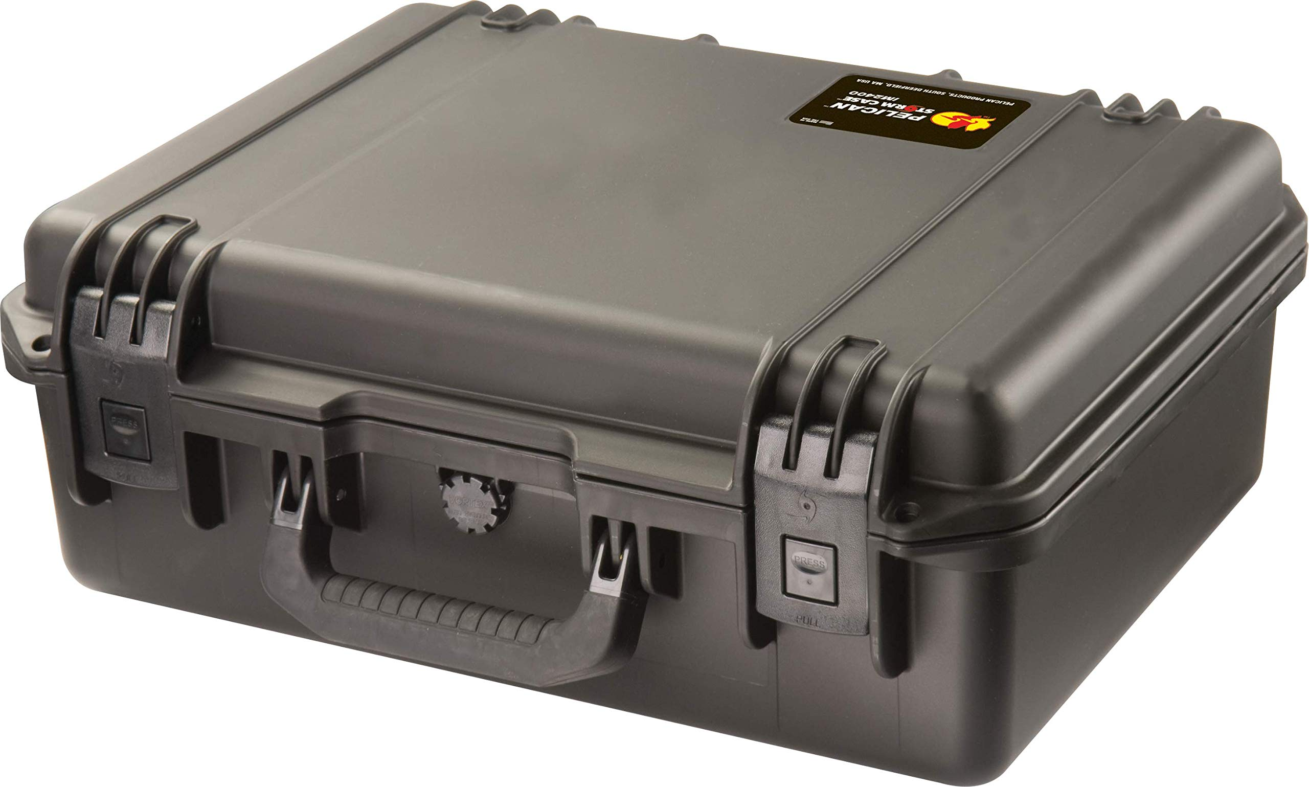 Waterproof Case (Dry Box) | Pelican Storm iM2400 Case With Foam (Black)