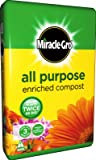 Miracle-Gro All Purpose Enriched Compost 50L **ENRICHED WITH MIRACLE GRO PLANT FOOD**