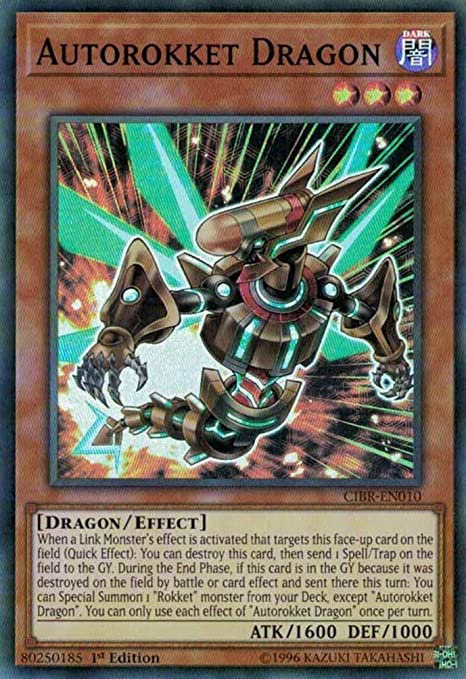 Yu-Gi-Oh Magnarokket Dragon CIBR-EN011 Ultra Rare 1st Edition!!!