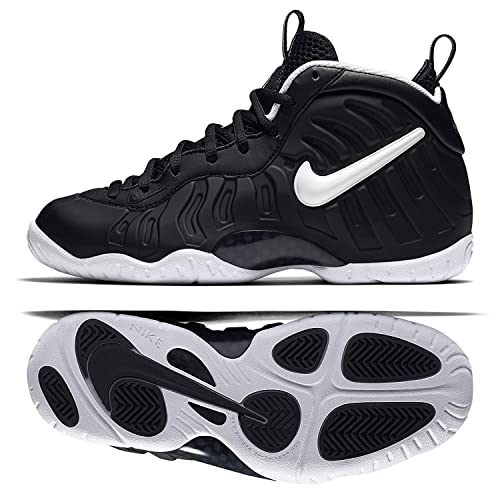 4b2e28e33b283 Nike Little Posite Pro (GS) DR Doom 644792-006 Black White Big