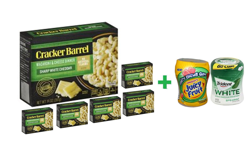 amazon com cracker barrel vermont white cheddar macaroni