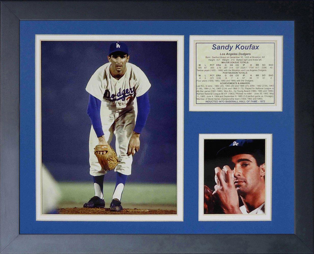 Legends Never Die Sandy Koufax Framed Photo Collage, 11 x 14-Inch 11203U